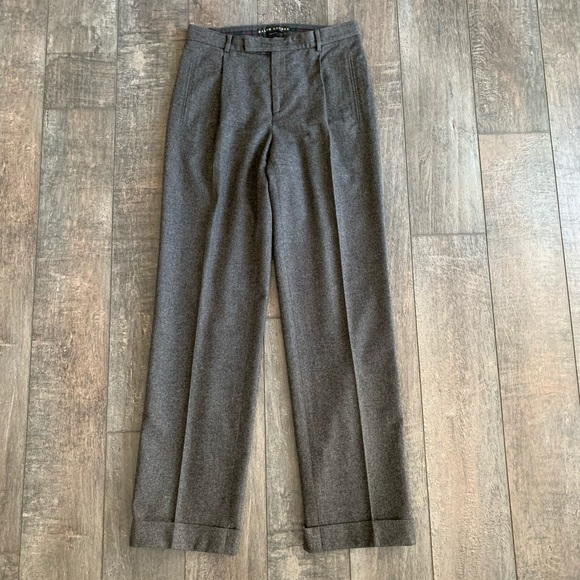 Ralph Lauren Black Label Pants - Ralph Lauren Black Label Wool Trousers